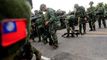Egyre több jel utal arra, hogy Kína erővel akarja visszavenni Tajvant