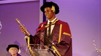 Marcus Rashford 23 évesen lett az Egyesült Királyság második legbefolyásosabb színes bőrű személye