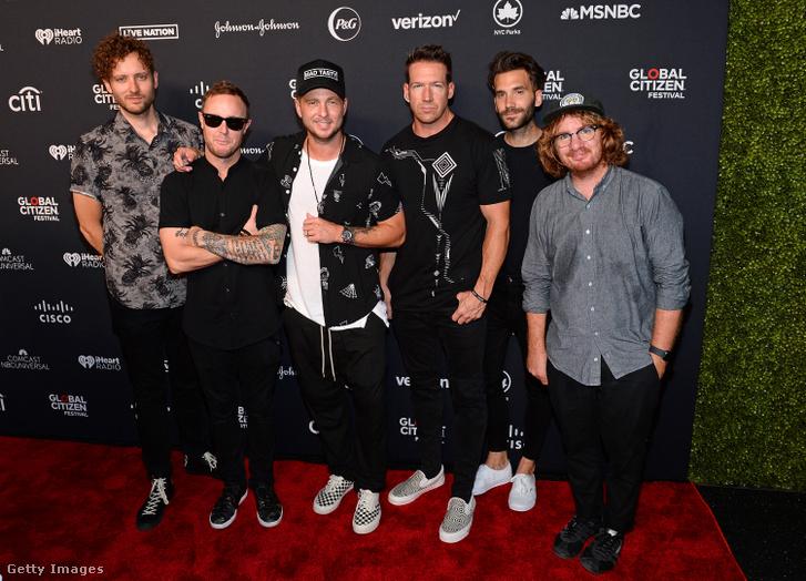 A OneRepublic együttes tagjai 2019. szeptember 28-án