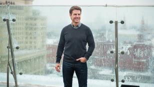 Német Légierős ex-pilóta készíti fel Tom Cruise-t a Mission Impossible legújabb részének csatajelenetére