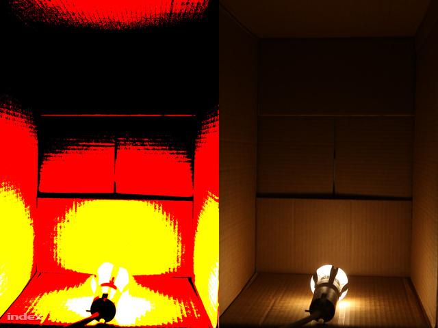 Fénygránát az Osramtól. Ezer lument is meghaladó fényhozamával főleg konyhákba ajánljuk. Vagy műtőkbe.
