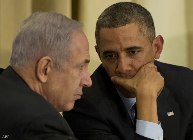 Barack Obama és Benjámin Netanjahu megbeszélése Jeruzsálemben
