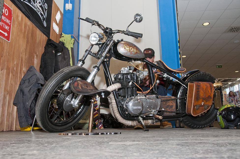 A Noggdesign Kawasaki bobbere