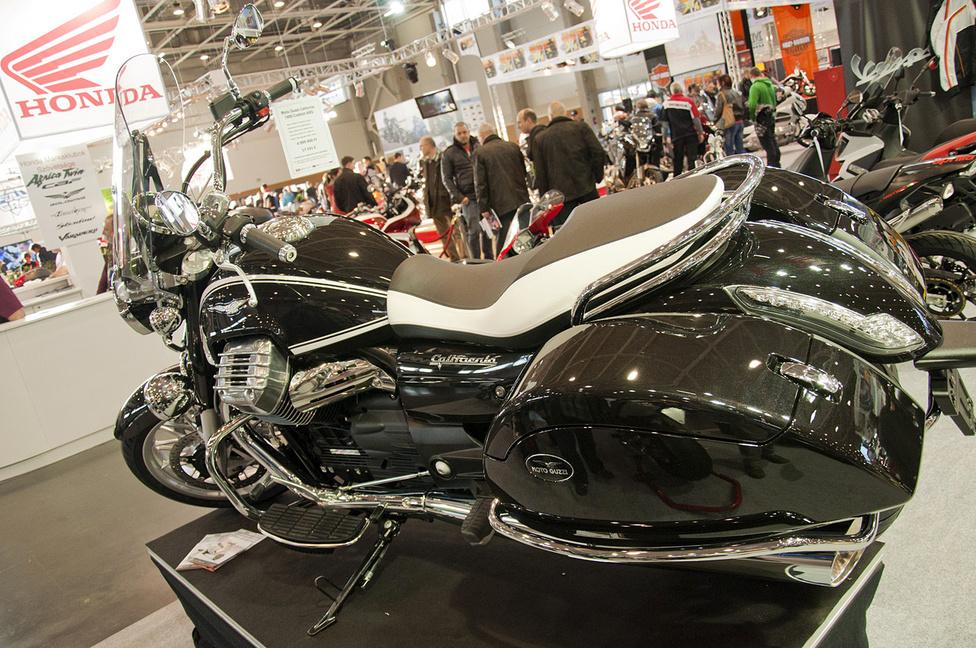 Impozáns dög a Moto Guzzi California 1400