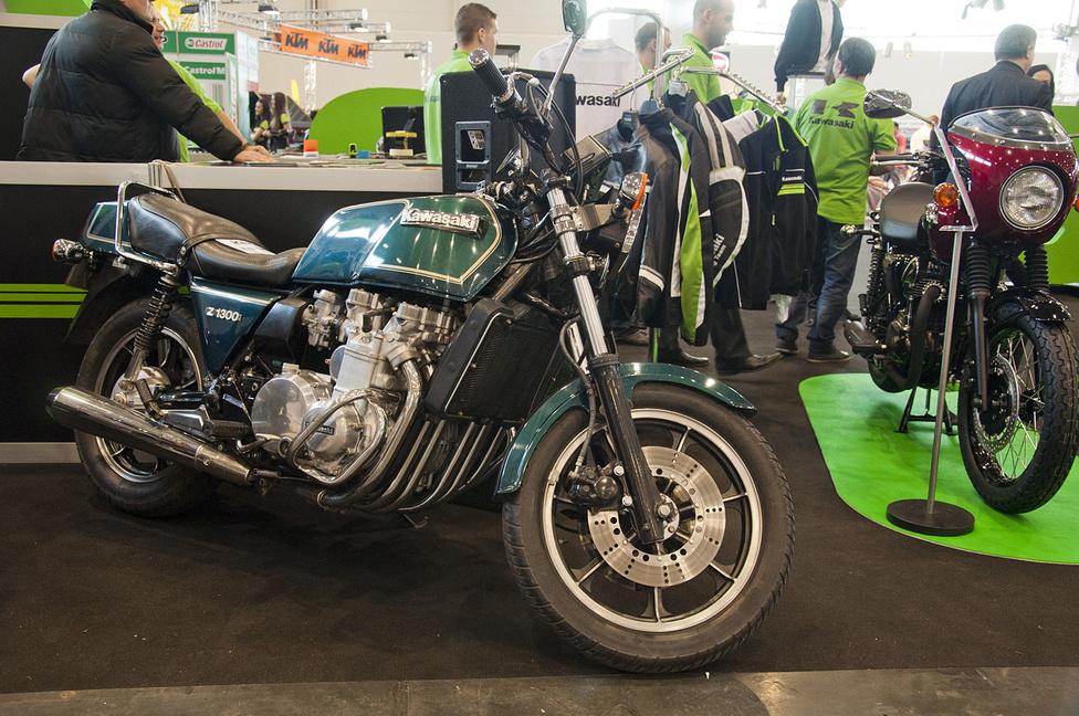 A legendás Z1300, a hathengeres Kawasaki