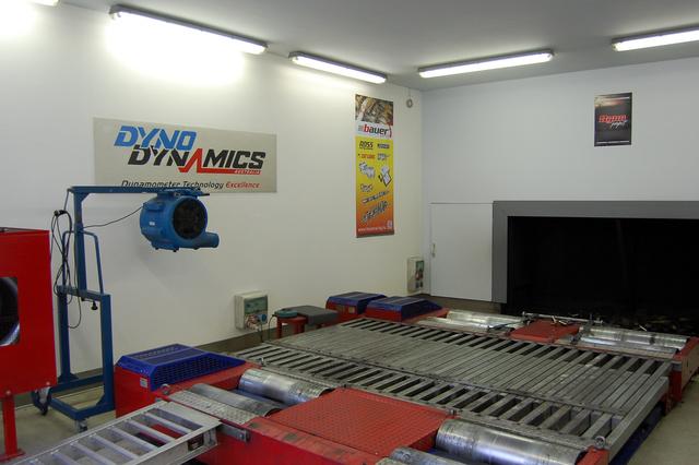 DynoDynamics mérőpad