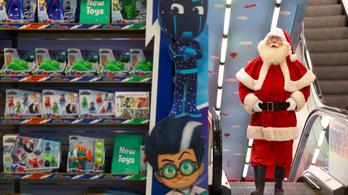 Nagy-Britanniában már a karácsonyi ajándékok is fogyatkoznak