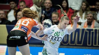 Dániában is győzött a Győr a kézi BL-ben