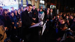 Márki-Zay Péter győzelmi beszéde: Ez a kicsik forradalma, leváltottuk az ellenzéket