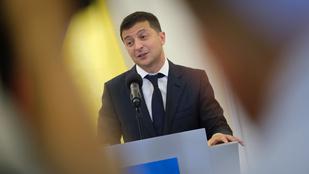 Túszként cserélné el Putyin komáját az ukrán elnök