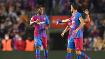 Fati és Coutinho betalált, Agüero pedig bemutatkozott a Barcában