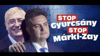 Lépett a Fidesz: a Stop, Gyurcsány! Stop, Karácsony! helyett jön a Stop, Gyurcsány! Stop, Márki-Zay!