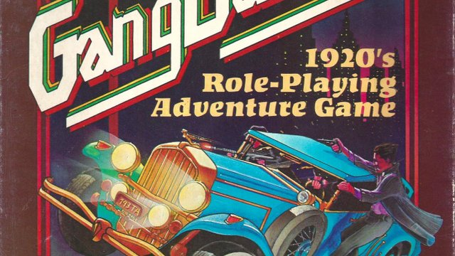 Gangbusters - 1920's Role-Playing Adventure Game