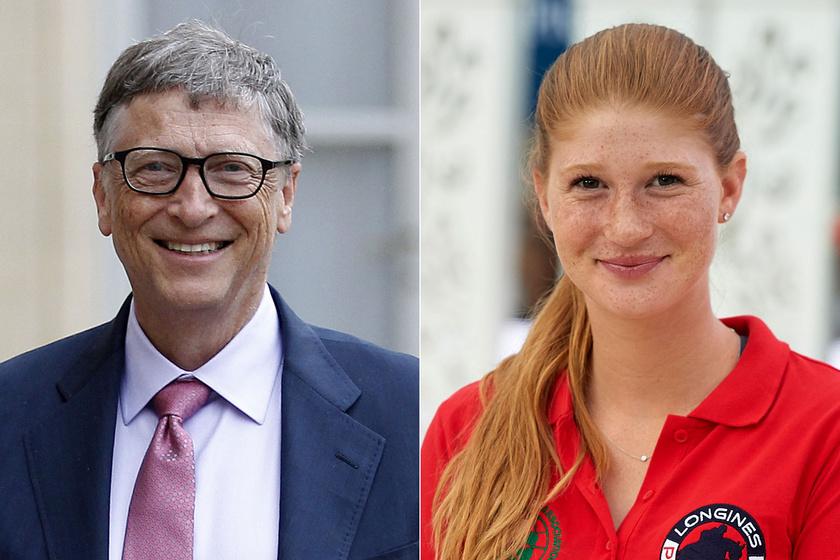 Bill Gates 25 éves lánya csodaszép menyasszony volt: Jennifer csipkés ruhában mondta ki az igent
