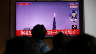 Észak-Korea rakétát lőtt ki Japán felé