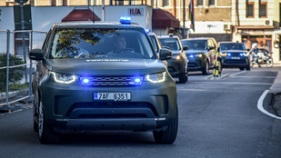 Cseh rendőrök akcióznak Magyarország déli határain