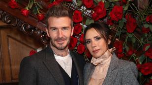 Victoria Beckham első számú múzsája a férje, David Beckham