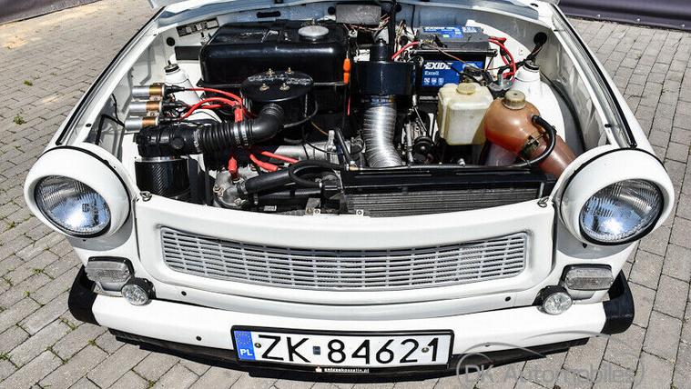 Mitől lesz egy Trabant 50 lóerős? Például a Wartburg-motortól