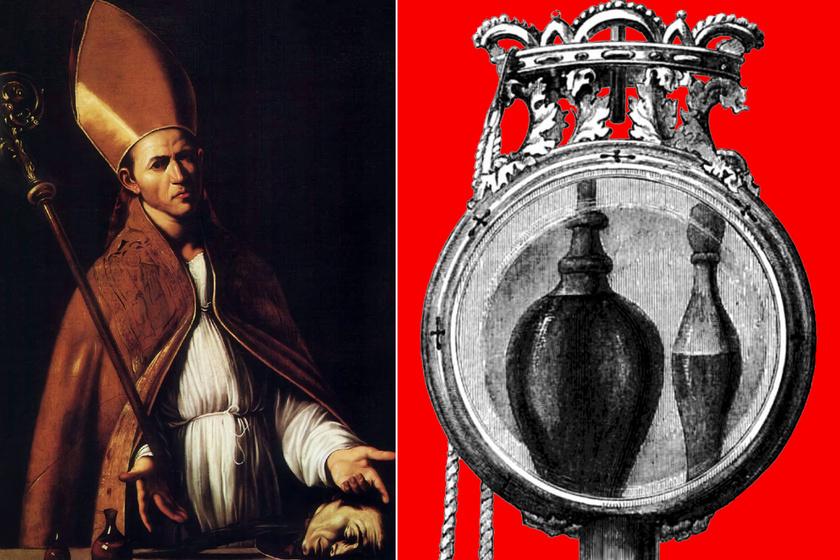 1700 éve halott Szent Januáriusz, de a vére még mindig folyékony: a mai napig jósolnak belőle