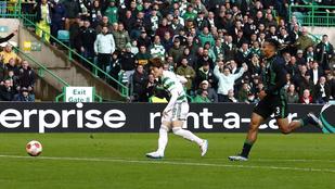 A Celtic otthonában sem jött össze a pontszerzés a Fradinak