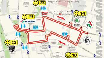 Útlezárásokkal és terelésekkel kell számolni a Rally Európa-bajnokság miatt