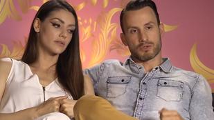 A kamerák előtt derült ki, hogy Kulcsár Edina és Csuti a válás szélén állnak