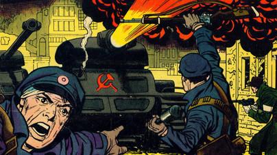 Képregényt rajzolt a magyar forradalomról Amerika Kapitány szülőatyja