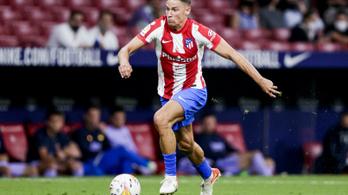 Alig épült fel, újra lesérült az Atlético Madrid középpályása