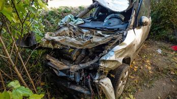 Egy anya és 16 éves lánya halt szörnyet autóbalesetben Faddnál