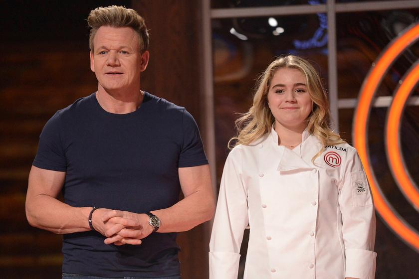 Gordon Ramsay lányát bunkó módon lekövérezte a rádiós: Tilly így vágott vissza a műsorvezetőnek