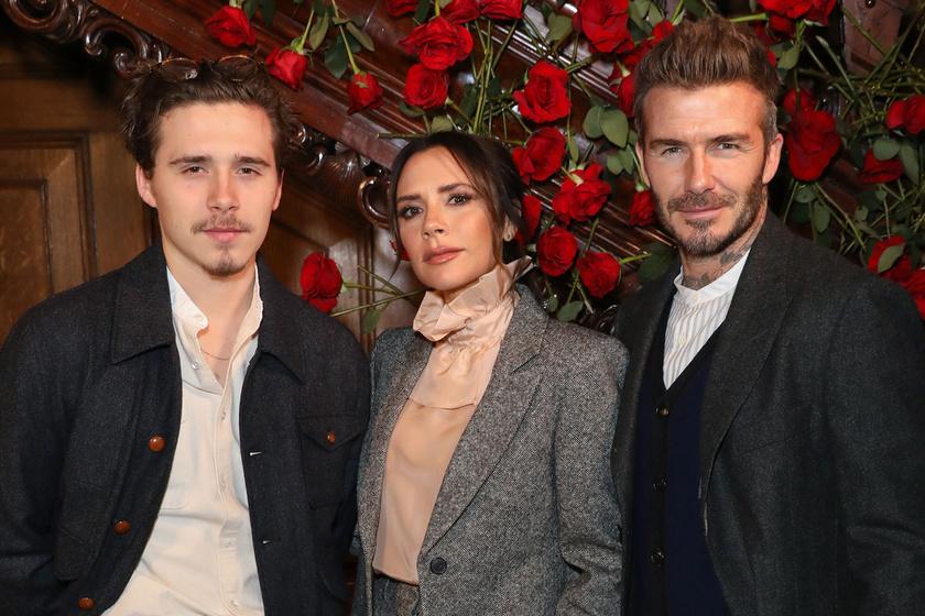 Victoria és David Beckham fia intim fotókat posztolt menyasszonyáról: kapott érte hideget-meleget