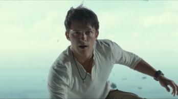 Vagány kalandornak áll Tom Holland az Uncharted első előzetesében