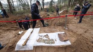 Nyolcezer fős világháborús tömegsírra bukkantak Belaruszban