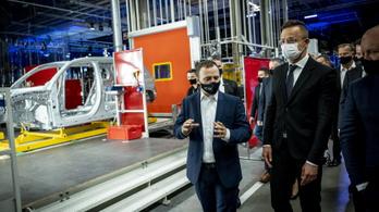 Történelmi mérföldkő, Kecskeméten gyártják majd a Mercedes elektromos SUV-ját, az EQB-t
