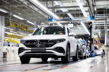 Elkészült az első elektromos Mercedes Kecskeméten