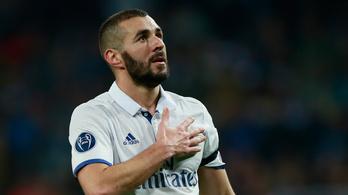 Karim Benzema megúszta a börtönt