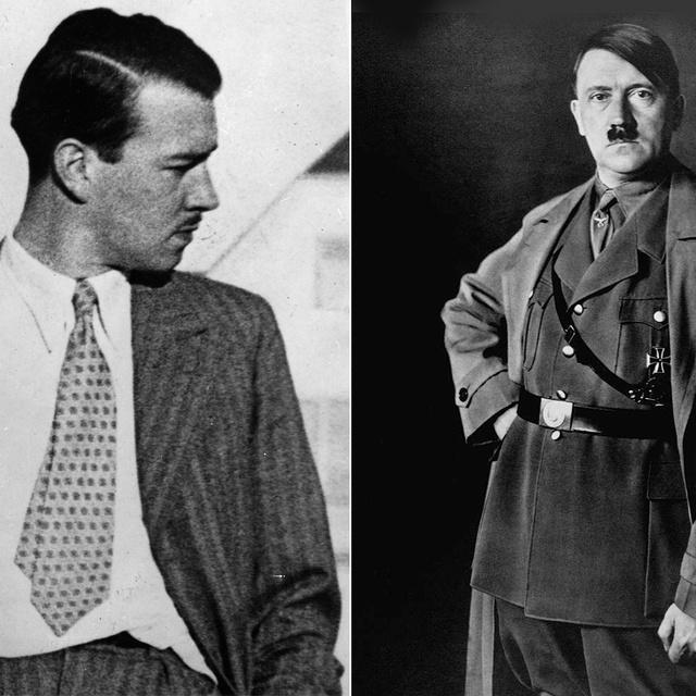 Hitler unokaöccse megfenyegette a Führert, és vakmerő cikket is írt róla: William Patrick Hitler története