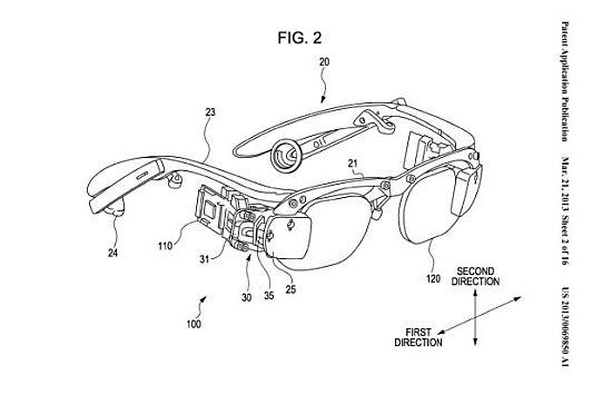 A Sony által bejegyzett szabadalom vázlata