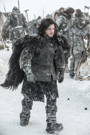 Havas Jon az izlandi hóban
