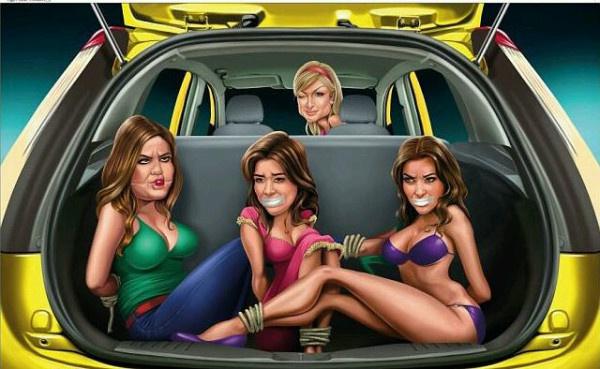 A Ford Figo plakátja