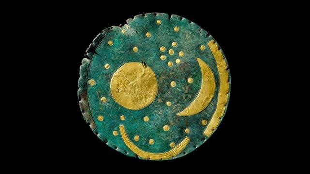 Bronzkorból származó csillagtérképét állítják ki