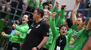 A Fradi női kézicsapata legyőzte az előző idény BL-ezüstérmesét