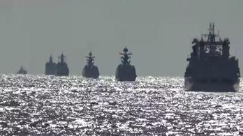Kína és Oroszország most közös hadgyakorlattal fitogtatta erejét a Nyugatnak