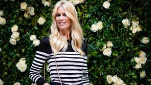Modellkarrierje fénykorának, a legendás kilencvenes éveknek állít emléket Claudia Schiffer