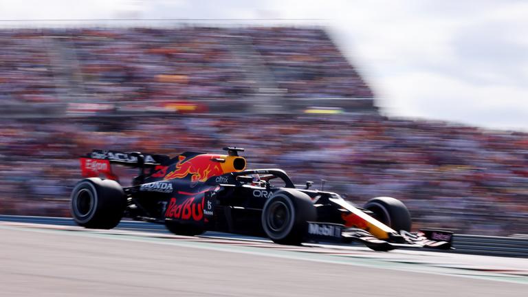 Max Verstappen az új texasi kopó, ő nyert Austinban