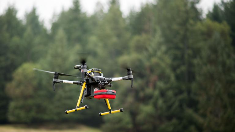 Drónokkal a hirtelen szívhalál ellen