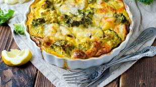 Heti sajtos-tejfölös: spenótos karfiol burgonyával