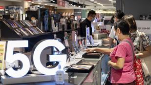 Kínában mindenki 5G rendszerű mobilkészüléket akar