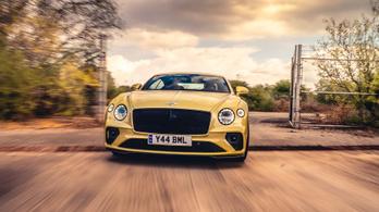 Bentley-nek is lehet keresztbe kenni