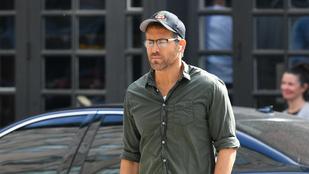 Ryan Reynolds a hétvégén ünnepelte 45. születésnapját - még Hugh Jackman is felköszöntötte